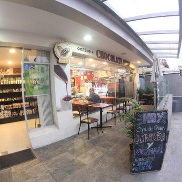 cafetería de especialidad y Cacao shop en quito